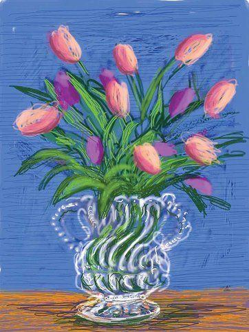 David Hockney, Finger Painting
