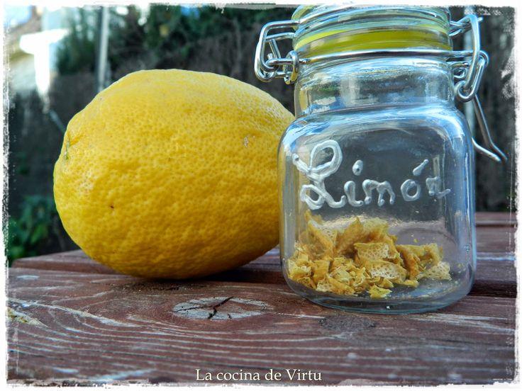 Reciclar c scara de lim n la cocina de virtu recetas - Cascara de limon ...