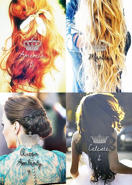 The present queen and possible future queen<3