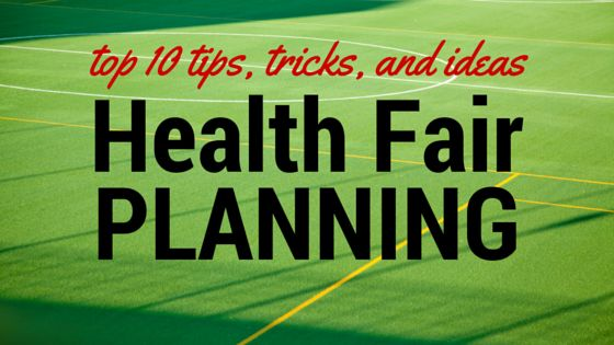 Looking for health fair planning ideas? Here are 10 health and wellness fair ideas will help get you started with vendors, prizes, and activities...