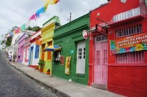 ブラジル三大カーニバル開催地の1つ、とーってもカラフルな町オリンダ。~ブラジル~ olinda3