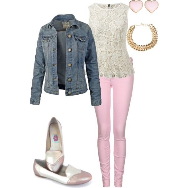 """Romantic Outfit"" by eriarango on Polyvore"