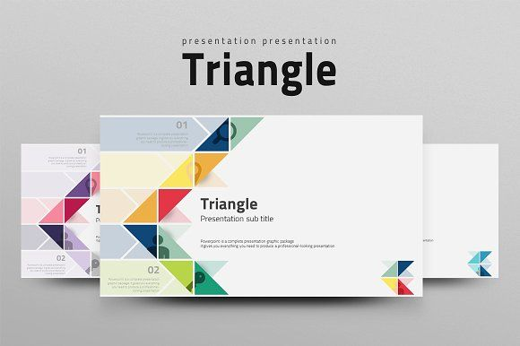 Triangle by Good Pello on @creativemarket