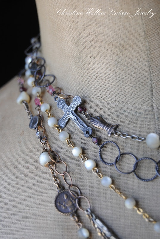 """Christine Wallace... """"Honoring Life Through Jewelry"""": Lovely Layers..."""