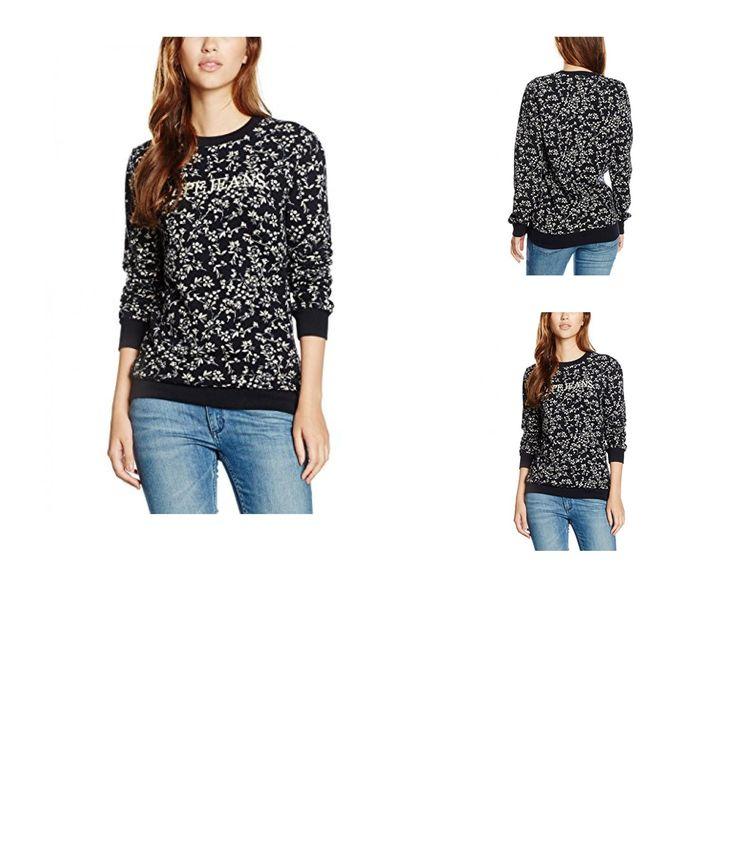 8434341030563   #Pepe #Jeans #Damen #Sweatshirt #Elia, #Blau #(Admiral), #36 #(Herstellergröße: #36 #(Taille #fabricant #XS)