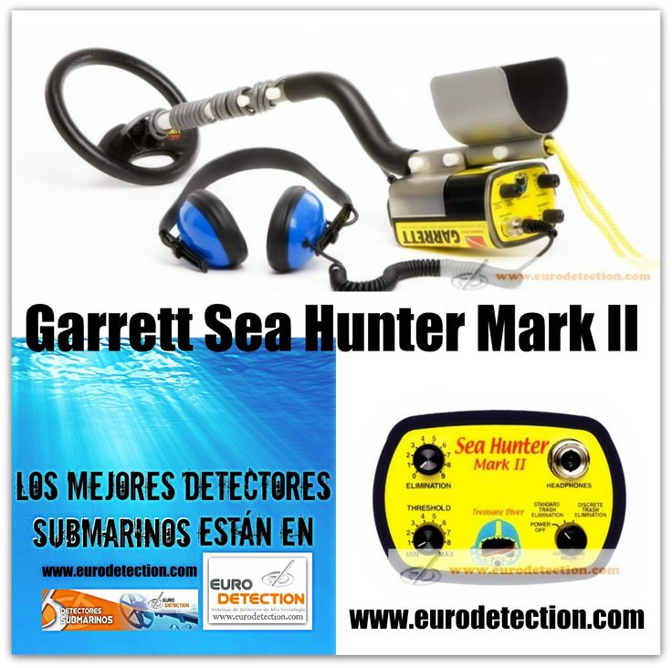 ¡¡En http://www.eurodetection.com/196-detector-de-metales-sumergible-garrett-infinium.html disponible detector de metales Sumergible Garrett Sea Hunter Mark II, sumergible hasta 65 metros!!‪ #DetectorMetalSubmarino #Eurodetection #MetalDetecting #DetectorSumergible #Garrett #GarrettSeaHunter #Hobby