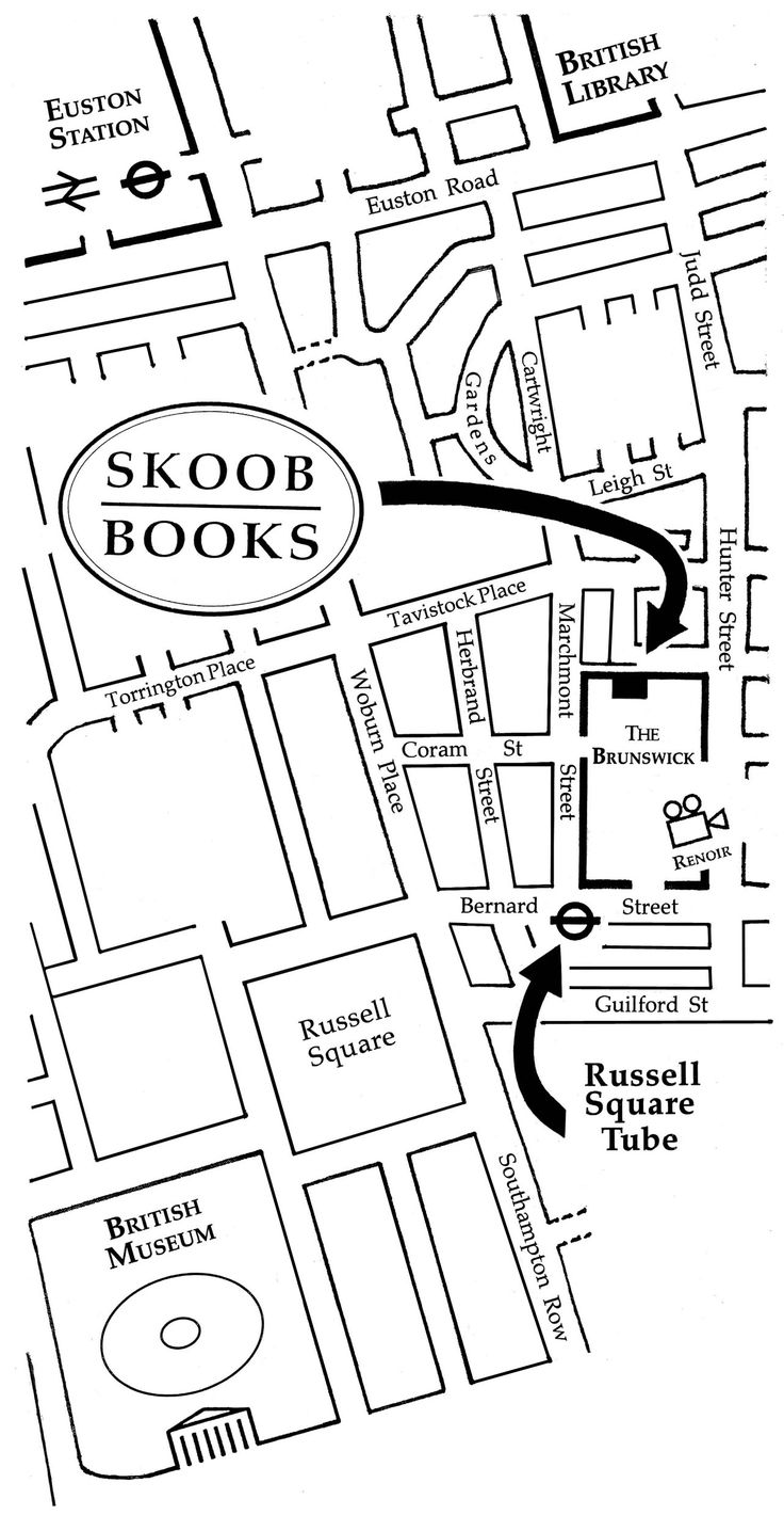 Skoob bookshop, London  I think it's the biggest second hand bookshop in London. Top of the list to visit.