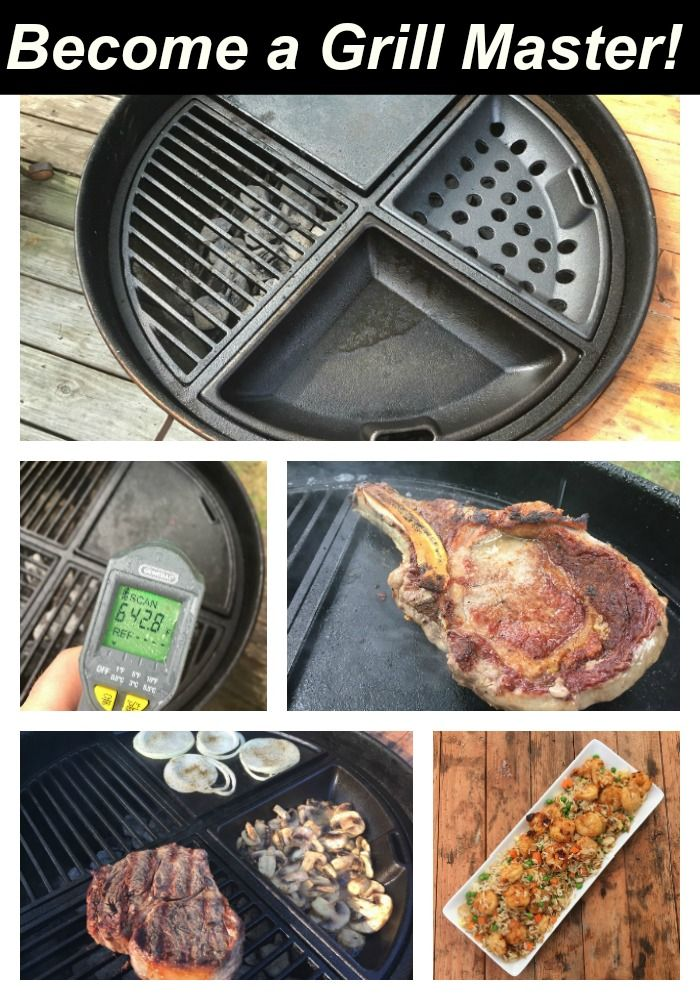 Weber Charcoal Grill Accessories:  The perfect gift for the griller who has everything.  You can't help but smile when you put these heavy duty grates on your Weber kettle.