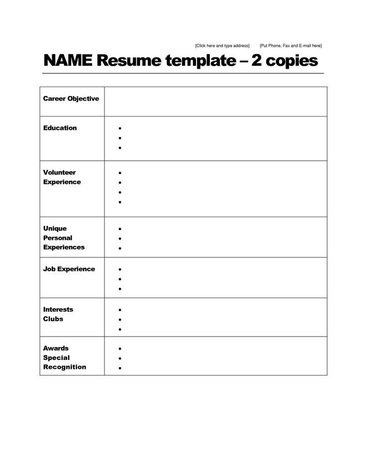 resume templates pdf download simple resume format in word