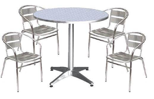 металлическая мебель для уличного кафе