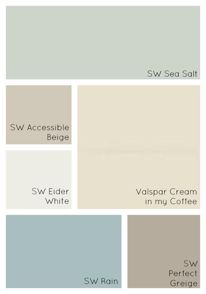 25 best ideas about cottage paint colors on pinterest - Interior home color combinations and contrast ...