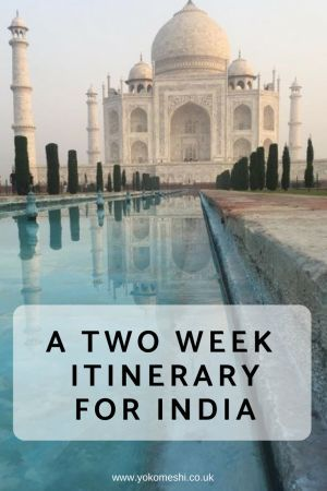 2 Week Itinerary for India: North and South!