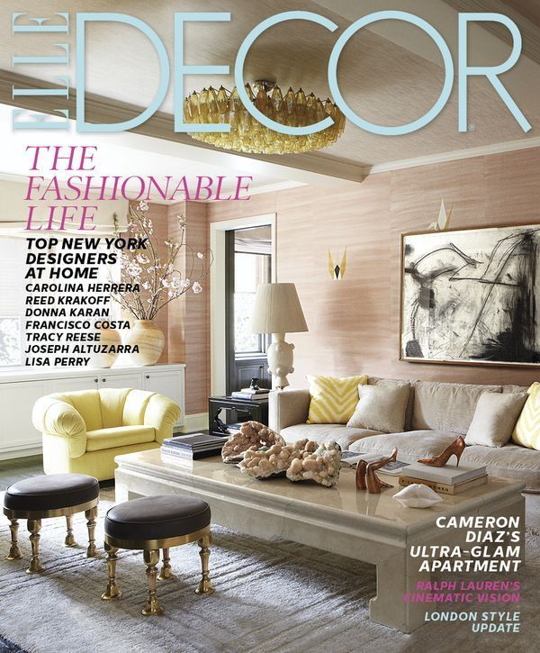 Cameron Diazs New York City Home Decorated By Kelly Wearstler Has Warmth And Glamour