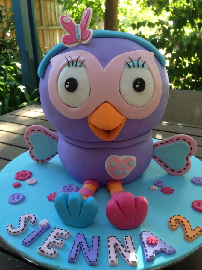 Hootabelle - Giggle and Hoot — Children's Birthday Cakes