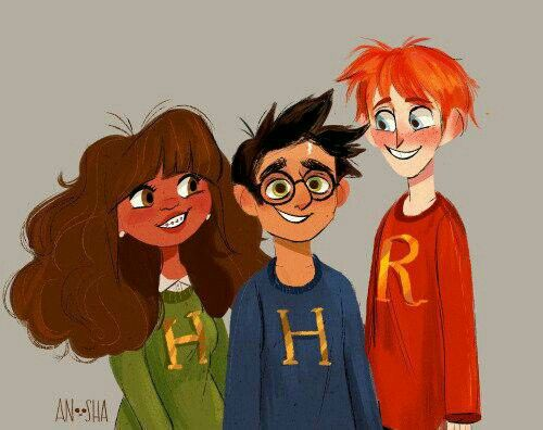 """I love this bc everyone forgets that in the goblet of fire JK. Rowling wrote that Hermione said """"my parents won't be to happy though. I've been baging them to let them magic them for ages but they're dinstest you know and they want'ed me to stick to my braces."""""""