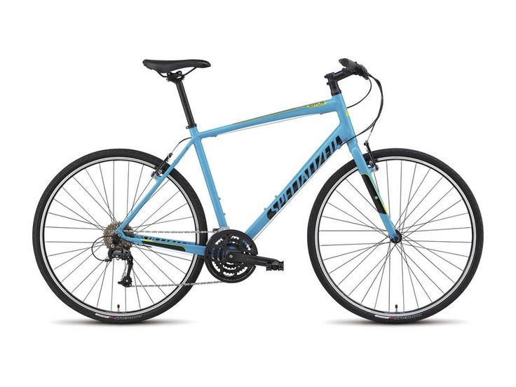 Specialized Sirrus Sport 2015, Gloss Cyan/Black/Hyper Green - Fitnessbike im Biker-Boarder Shop kaufen