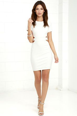 25  best White cocktail dresses ideas on Pinterest | Short white ...