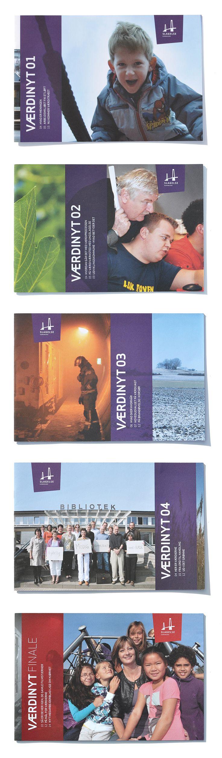 Zum Design des Magazins gehörte ein Balken auf der Titelseite, der darüber informierte, wie weit der WERTEprozess vorangeschritten war.