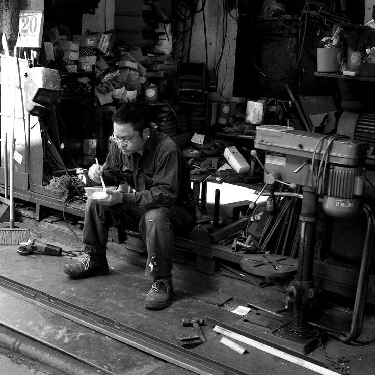 """Lunch Break"" Shot in Hong Kong by Beren Davis"