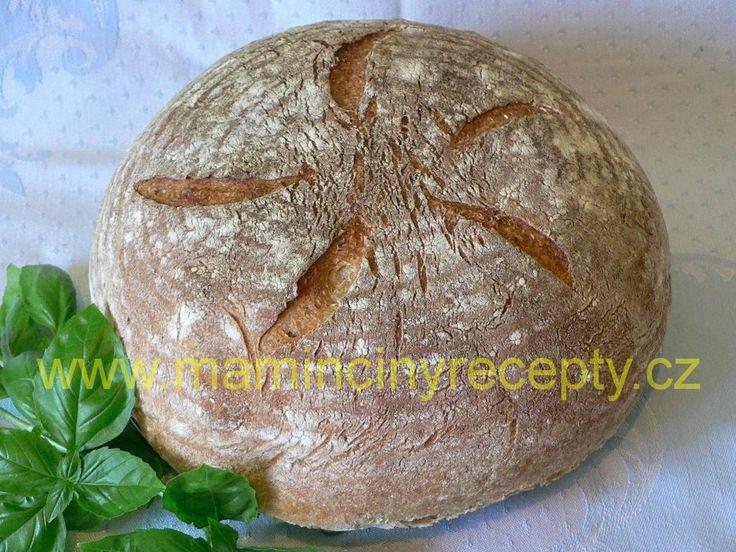 Chléb se starým těstem kváskový