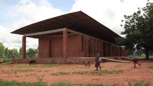 Francis Kéré Architecture / School in Gando and Dano