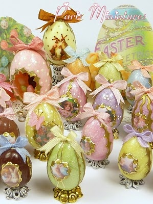 emmaflam and miniman easter miniatures