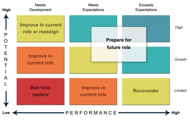 The Problem With 9 Box Matrix Potential Vs Performance Talent Management Talent Development Succession Planning