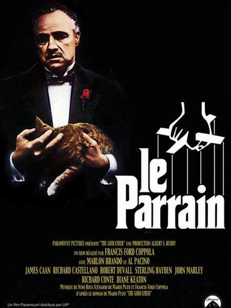 Le Parrain est un film américain réalisé par Francis Ford Coppola et produit par les studios Paramount, sorti le 15 mars 1972. Il s'agit d'une adaptation du livre de Mario Puzo. Wikipédia