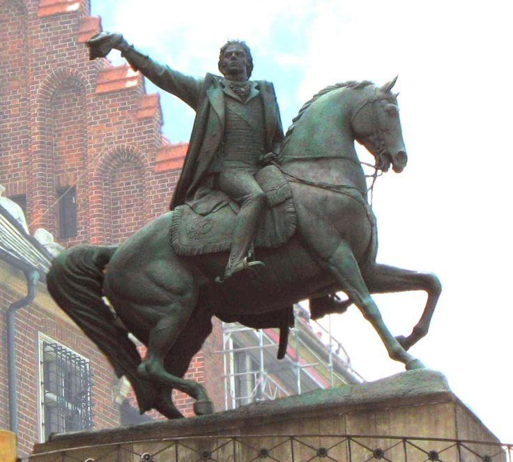 kosciuszko tadeusz | Tadeusz Kościuszko Monument, Wawel Castle , Kraków