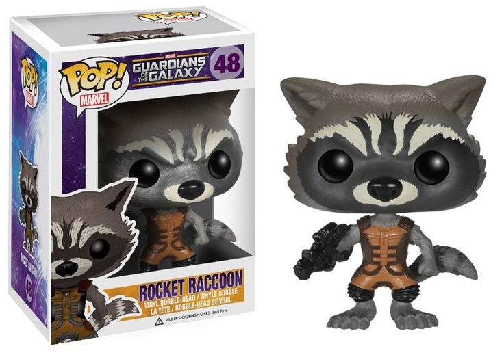 Guardians of the Galaxy POP! Vinyl Figur Rocket Raccoon 10 cm  Guardian of the Galaxy - Hadesflamme - Merchandise - Onlineshop für alles was das (Fan) Herz begehrt!
