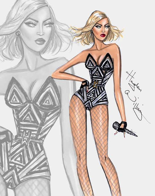 Hayden Williams Fashion Illustrations Happy Birthday