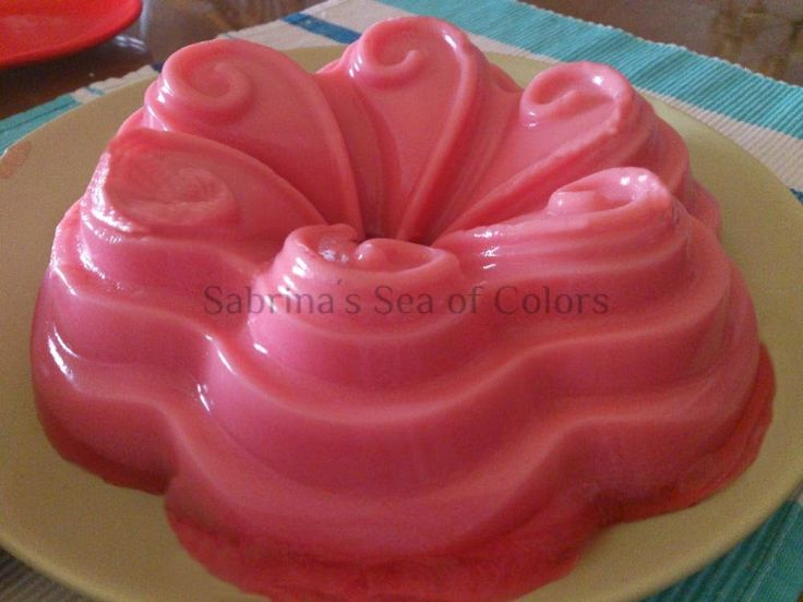 17 best images about gelatinas on pinterest pastel - Gelatina leche condensada ...