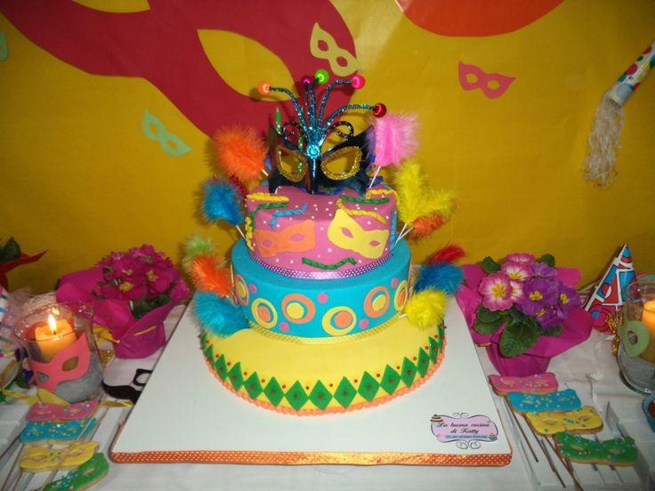 Katty's cakes - Le torte di Katty : Carnevale party per il mio compleanno