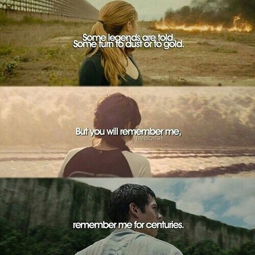 Divergent - The Hunger Games - The Maze Runner <3
