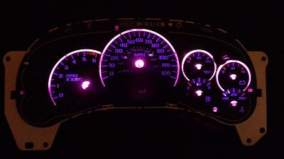 GM LED Pink 9pc Light Kit Gauge Cluster Speedometer Tahoe GMC Yukon Escalade GMC | eBay  id love to have this pink dash lights kit only if someone knew how to put them in! $20 on ebay