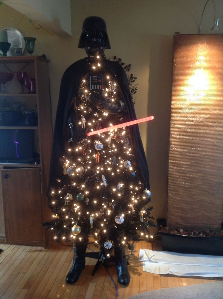 My Darth Vader Christmas tree Christmas DecorationsChristmas
