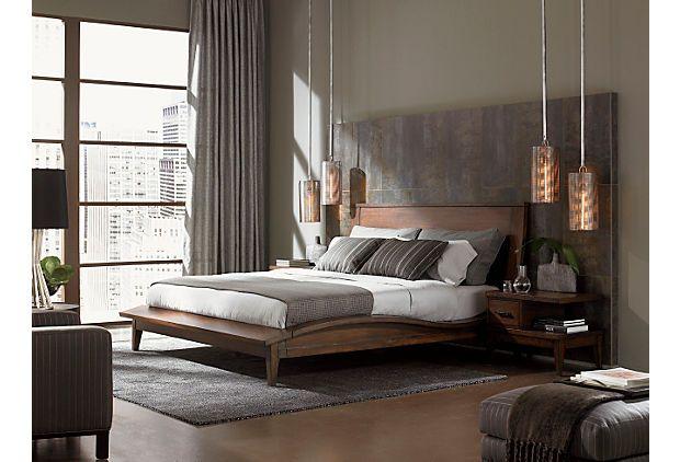 One Kings Lane Sleek Amp Streamlined Urbana Bed