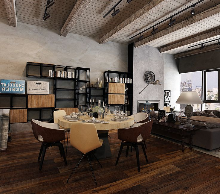 Industrial Home Office Design Ideas: Best 25+ Industrial Office Space Ideas On Pinterest
