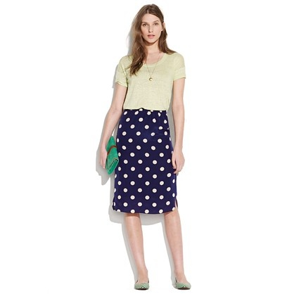 silk dotty passenger skirt  	$98.00  Item# 79767  An easy drape and a shirttail-style hem make this a laid-back marvel. Basically, prepare to have it in constant rotation.: Dots Madewell, Polka Dot Skirts, Polka Dots, Dotty Passenger, Madewell Silk, Passenger Skirt, Dotty Skirt, Silk Dotty