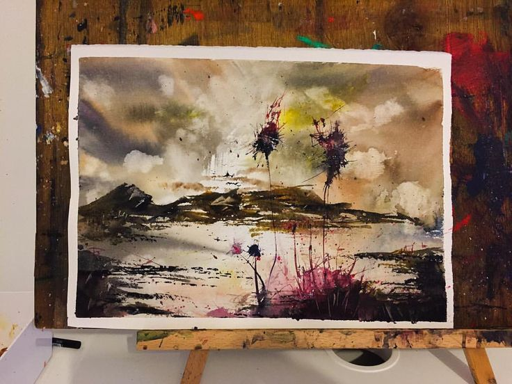 Red Thistle Sunset #colourful #dramatic #abstract #beautiful #abstractart #fantasy #watercolor #watercolourartist #paint #painter #painting #art #artwork #instagood #artist #color #colour #watercolorart #watercolourart #style #artoftheday #aquarell #aquarelle #inspiring_watercolors #pretty #thistle #coast #Sunset