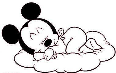 M s de 25 ideas incre bles sobre mickey mouse para colorear en pinterest figuras de mickey - Minnie y mickey bebes para colorear ...