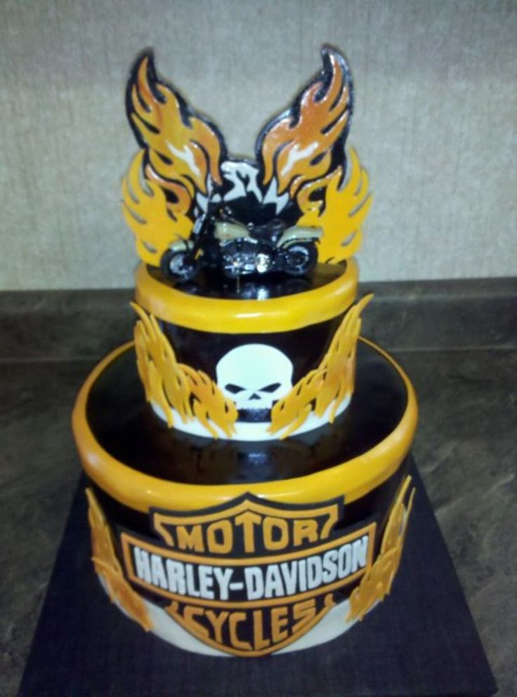 97 best Biker Birthday images on Pinterest Birthday cakes