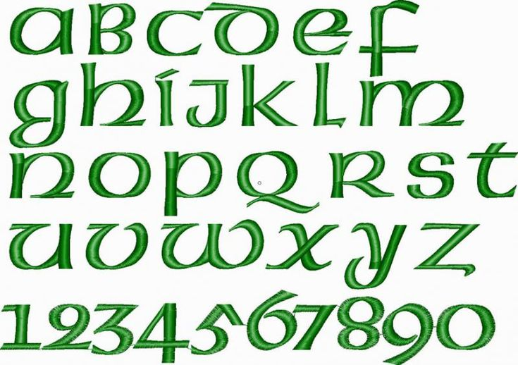 The 25 Best Irish Font Ideas On Pinterest Letter Fonts