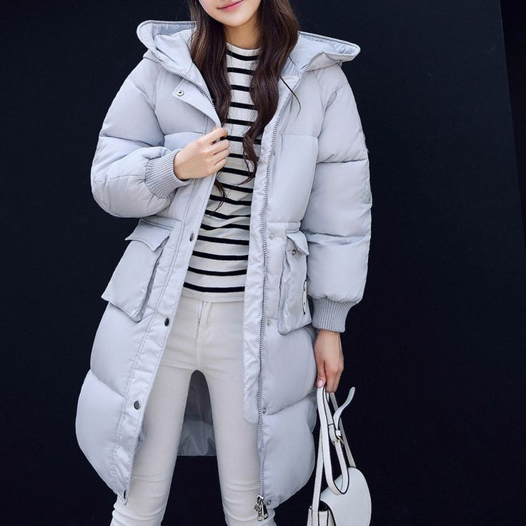 >> Click to Buy << warm thick women cotton coat 2016 winter new fashion cotton jackets casual solid loose hooded Korea women parka coat,LB2589 #Affiliate