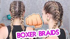 (88) Trança de Boxeadora – Boxer Braids – Jana Ta…