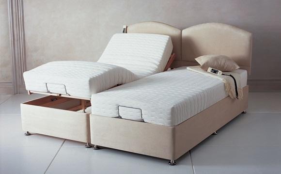 Paturi cu somiera ajustabila dormitor