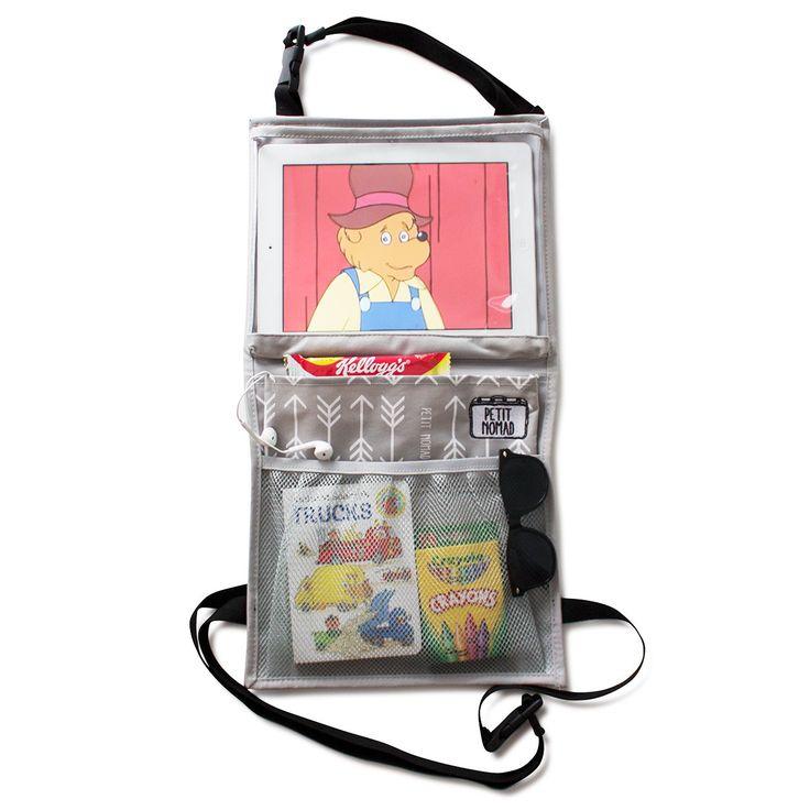 Car Organizer + Tablet Holder