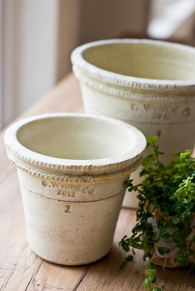 Gorgeous Collectors clay pots by Guy Wolff Co