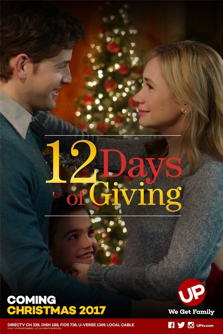 Hallmark 12 Days Of Christmas 2019 12 Days of Giving   an UP Christmas Movie Premiere starring Ashley