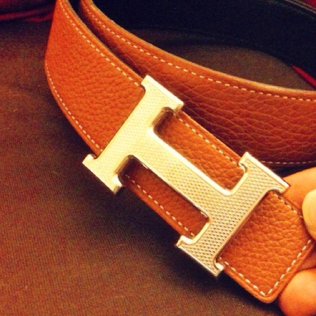 Classic Hermés Belt